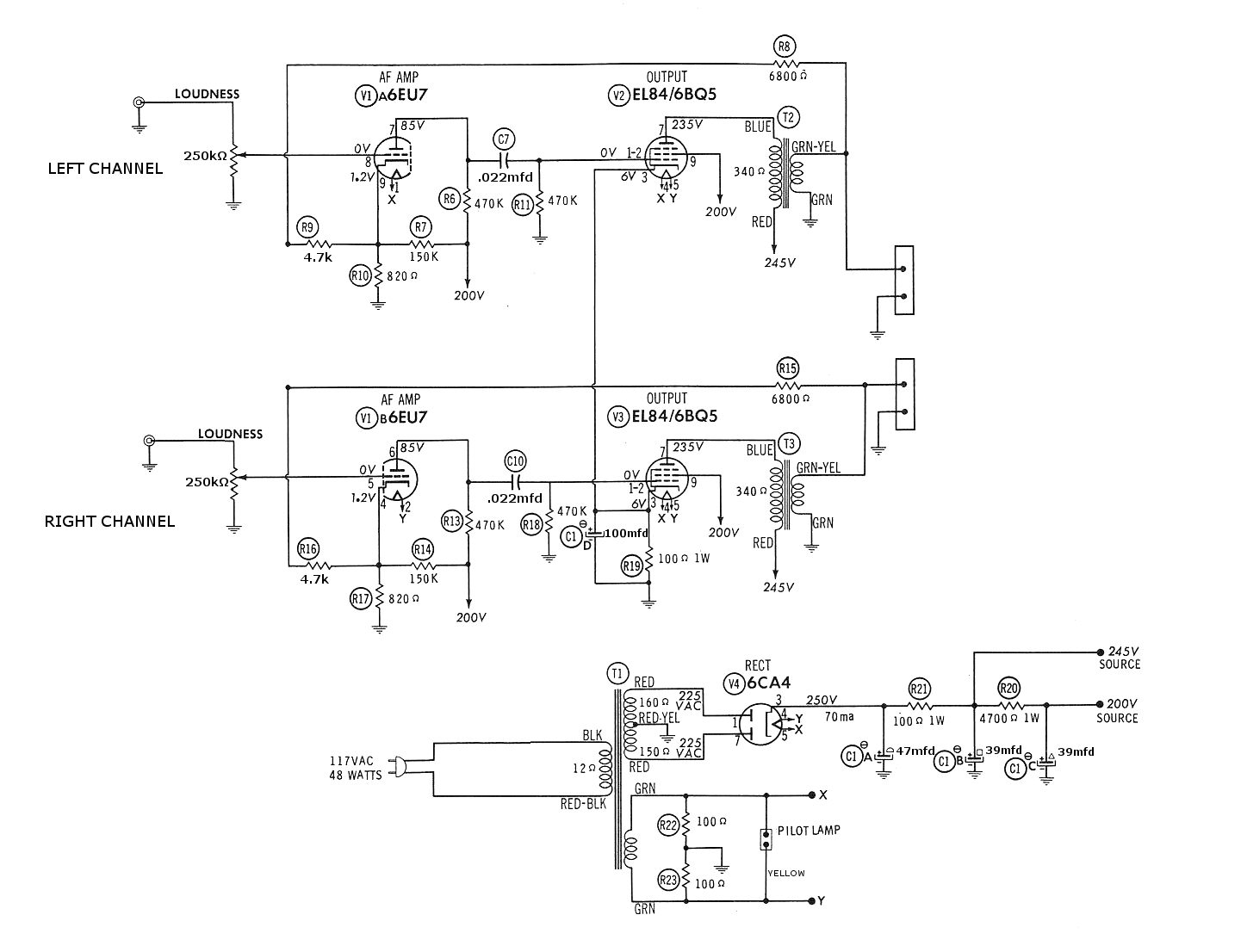 on magnavox schematic diagrams